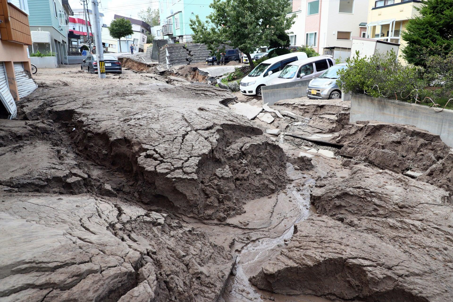 Hokkaido Earthquake (2018) - Jiji Press/EPA
