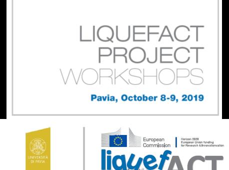 LIQUEFACT PROJECT WORKSHOPS Pavia, October 8-9, 2019